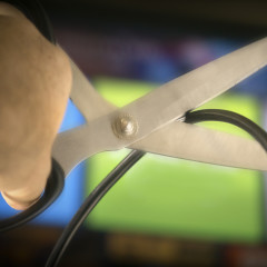 Cord-Cutting, Tipping Points and Advertising